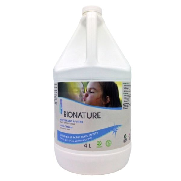 Bionature nettoyant à vitre 4 Litres