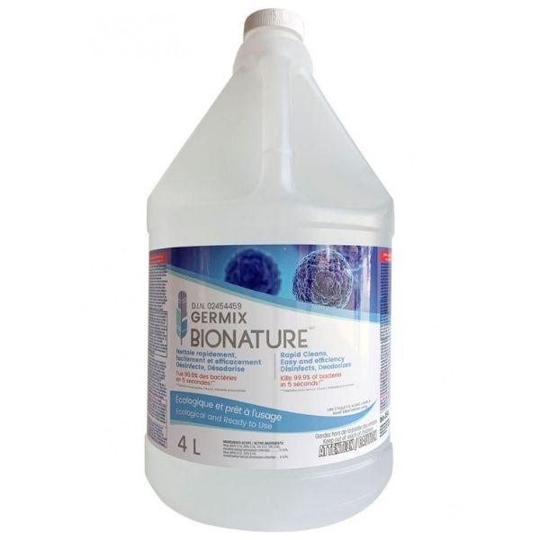 Germix Bio-354 Nettoyant désinfectant - Bionature 4 Litres