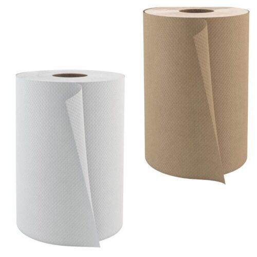 Papier rouleaux 425' Cascade 12RLX blanc et brun(425WRT)